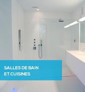 Salles de bain et cuisines
