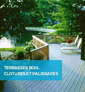 Terrasses bois et clôtures