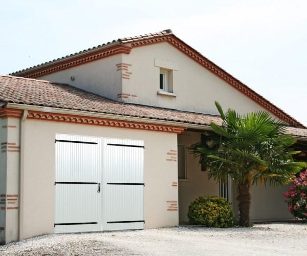 Porte de garage PVC Dreux